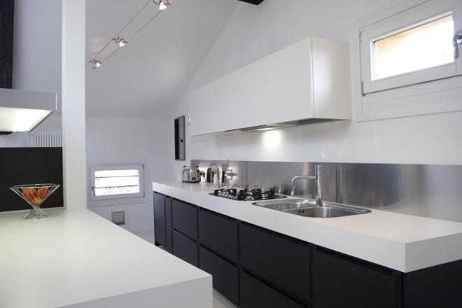 Illuminazione A Binario Per Cucina.Illuminazione Cucina Soffitto Basso Gallery Of Faretti Cucina Come